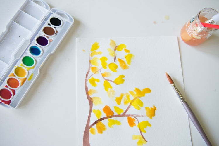 adventures in watercoloring » the sweet light